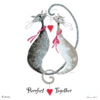 "Carte Marilyn Robertson ""Purrfect together"""