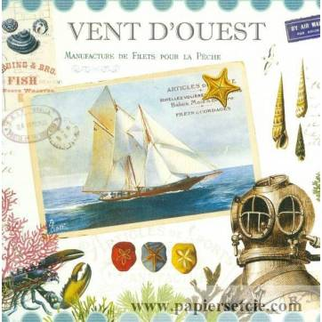 Carte d'art Gwenaëlle Trolez Vent d'ouest