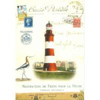 Carte d'art Gwenaëlle Trolez Phare Plymouth