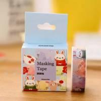 Masking Tape Washi Tape Lapins rigolos