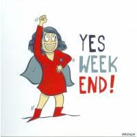 "Carte Mathou ""Yes Week End!"""