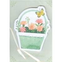 Post it Marque-Pages Panier Vert