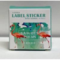 Stickers pour scrapbooking en boite Oiseaux
