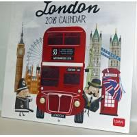 """Calendrier 2018 LEGAMI 30 x 30 """"London"""""""
