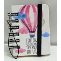 """Mini carnet 100 pages LEGAMI """"Follow your Dreams"""""""
