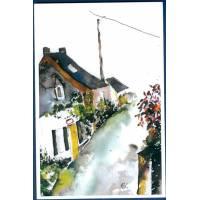 Carte Marion Kerignard Belle Ile Petites maisons en campagne