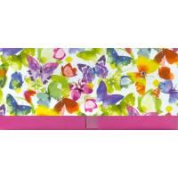Enveloppe cadeau Bon Anniversaire Papillons multicolores