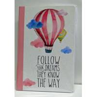"Petit Carnet LEGAMI A6 ""Follow your Dreams""  48 pages lignées"