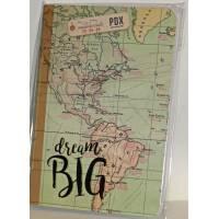 """Petit Carnet LEGAMI A6 """"Dream Big"""" 48 pages lignées"""
