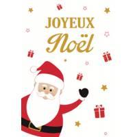 Grande carte Joyeux Noël Le Père Noël