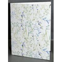 Carte à planter Hannah Marchant fleurs bleues Aneth