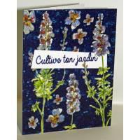 """Carte à planter Hannah Marchant """"Cultive ton jardin"""" , graines Fleurs des champs"""