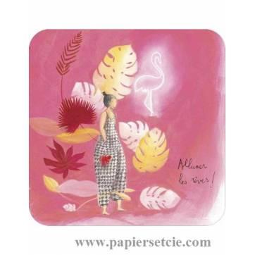 """Carte Anne-Sophie Rutsaert """"Allumer les rêves""""!"""