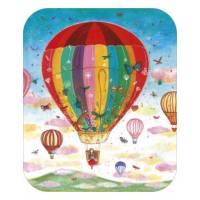Carte Anniversaire Jehanne Weyman La montgolfière
