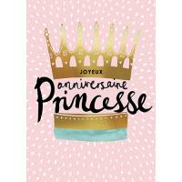 Carte double Louise Tiler Joyeux Anniversaire Princesse