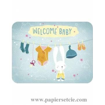 Carte Jessica Sécheret Welcome Baby