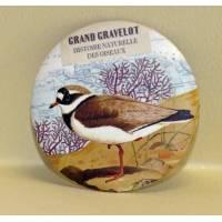 Magnet rond Gwenaëlle Trolez Grand Gravelot