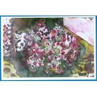 Carte Marion Kerignard Belle Ile Buisson de Roses