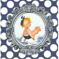 Carte d'art Gwenaëlle Trolez Sur l'Eau