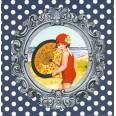 Carte d'art Gwenaëlle Trolez L'Ombrelle