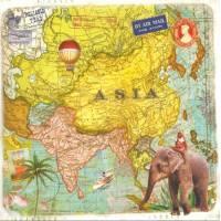 Carte d'art Gwenaëlle Trolez Asie