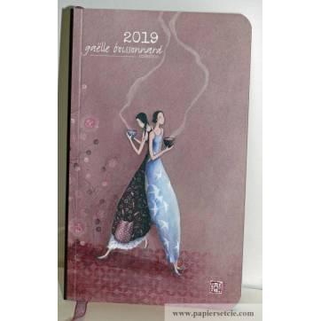 """Agenda 2019 Gaëlle Boissonnard """"Les Amies"""""""