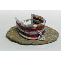 Bracelet Manchette Liberty Cordon Liberty Betsy bleu