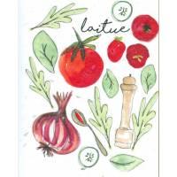 Carte à planter Hannah Marchant Laitue