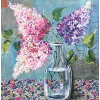 Carte d'art Gwenaëlle Trolez Sophie Addé Lilas