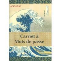 Carnet à mots de passe Gwenaëlle Trolez La Vague Hokusai