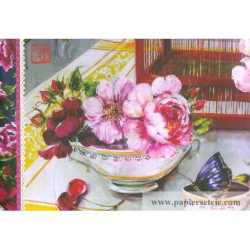 Carnet de Voyage Livre d'or Gwenaëlle Trolez Sophie Adde Fleurs