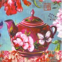 Carte d'art Gwenaëlle Trolez Sophie Addé La Théière