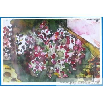 Set de Table Poster de Marion Kerignard  Buisson de Roses